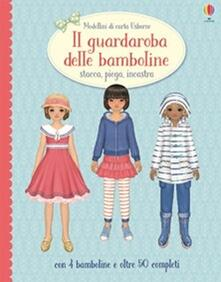 Voluntariadobaleares2014.es Il guardaroba delle bambole. Stacca, piega, incastra. Modellini di carta. Ediz. illustrata Image