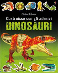 Dinosauri. Costruisco con gli adesivi. Ediz. illustrata - Simon Tudhope,Franco Tempesta - copertina