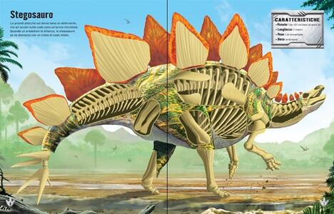 Dinosauri. Costruisco con gli adesivi. Ediz. illustrata - Simon Tudhope,Franco Tempesta - 2