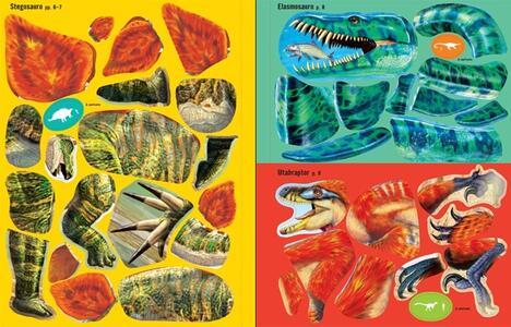 Dinosauri. Costruisco con gli adesivi. Ediz. illustrata - Simon Tudhope,Franco Tempesta - 4