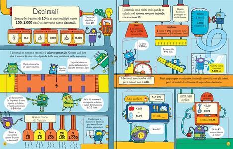 Frazioni e decimali. Sollevo e scopro. Ediz. illustrata - Rosie Dickins,Enrica Rusinà - 3