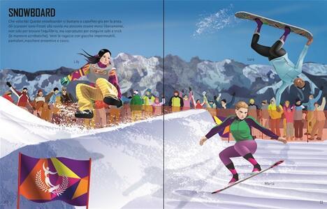 Come si vestono... sport invernali. Con adesivi. Ediz. illustrata - Jonathan Melmoth,Dusan Lakicevic - 2
