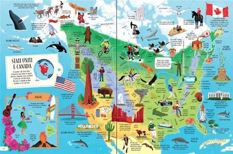 Il grande atlante illustrato - Emily Bone,Dan Taylor - 3