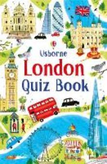 London Quiz Book - Simon Tudhope,Simon Tudhope - cover