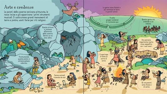L' età della pietra. Ediz. illustrata - Abigail Wheatley,Stefano Tognetti - 3