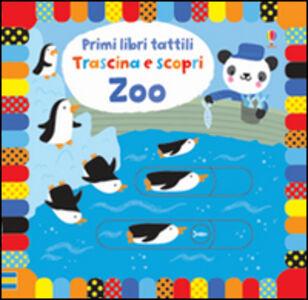 Foto Cover di Zoo. Primi libri tattili, Libro di Fiona Watt,Stella Baggott, edito da Usborne Publishing 0