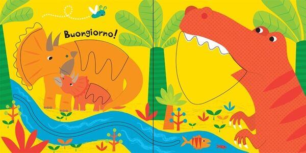 Foto Cover di Dinosauri. Trascina e scopri. Primi libri tattili, Libro di Fiona Watt,Stella Baggott, edito da Usborne Publishing 2