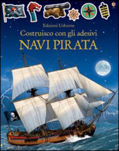 Libro Vascelli pirata. Costruisco con gli adesivi Simon Tudhope , Loic Derrien 0