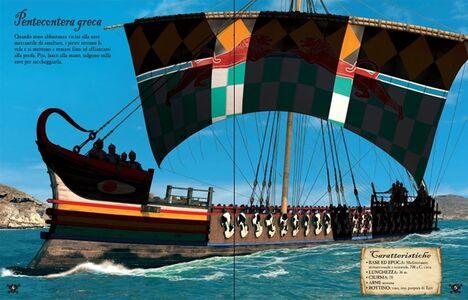 Libro Vascelli pirata. Costruisco con gli adesivi Simon Tudhope , Loic Derrien 1