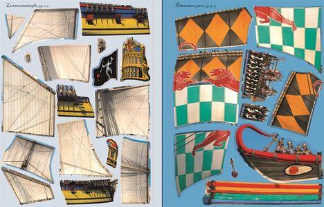 Libro Vascelli pirata. Costruisco con gli adesivi Simon Tudhope , Loic Derrien 2