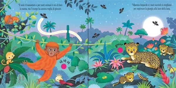La giungla. Libri tattili sonori. Ediz. illustrata - Sam Taplin,Federica Iossa - 3