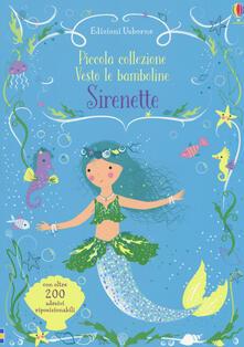 Amatigota.it Sirenette. Piccola collezione Vesto le bamboline. Con adesivi. Ediz. a colori Image