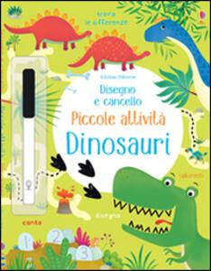 Dinosauri. Disegno e coloro. Ediz. illustrata. Con gadget