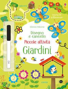 Camfeed.it Giardini. Piccole attività. Disegno e cancello. Ediz. illustrata Image