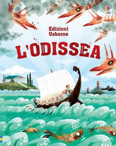 L' Odissea - Anna Milbourne - copertina