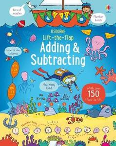 Lift-the-Flap Adding and Subtracting - Rosie Hore - cover