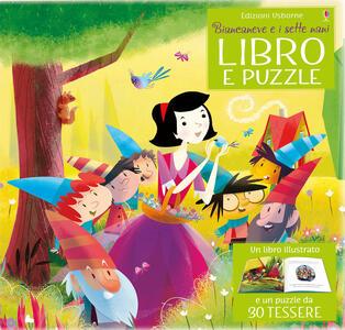 Biancaneve e i sette nani. Libro e puzzle. Ediz. a colori. Con puzzle - Lesley Sims - copertina