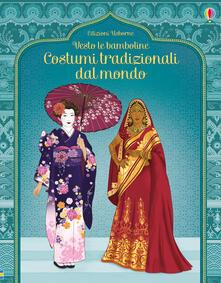Radiospeed.it Costumi tradizionali dal mondo. Con adesivi. Ediz. illustrata Image