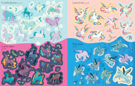 Unicorni. Con adesivi. Ediz. a colori - Fiona Watt - 4
