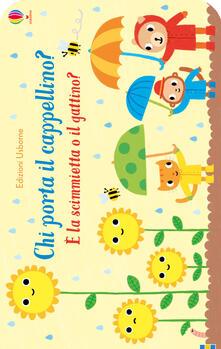 Antondemarirreguera.es Chi porta il cappellino? È la scimmietta o il gattino? Ediz. a colori Image