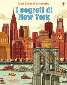 I segreti di New York. Libri da scoprire. Ediz. a colori - Jonathan Melmoth - copertina