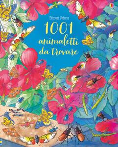 1001 animaletti da trovare. Ediz. a colori - Emma Helbrough,Susanna Davidson - copertina