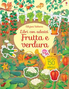 Amatigota.it Frutta e ortaggi. Libri con adesivi. Ediz. a colori Image