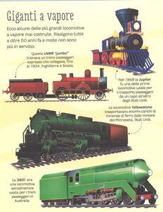 Il grande libro dei treni. Ediz. a colori - Megan Cullis - 2