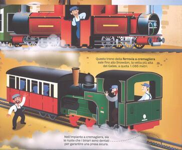 Il grande libro dei treni. Ediz. a colori - Megan Cullis - 4