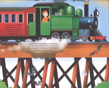 Il grande libro dei treni. Ediz. a colori - Megan Cullis - 5