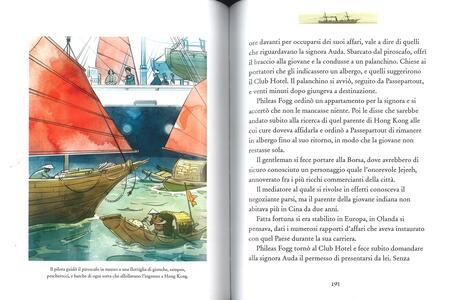 Il giro del mondo in 80 giorni. Ediz. a colori - Jules Verne - 4