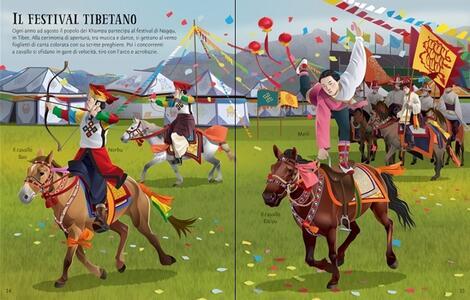 Come si vestono. Equitazione. Libri con adesivi. Ediz. a colori - Jonathan Melmoth - 3