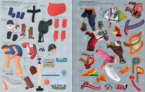 Come si vestono. Equitazione. Libri con adesivi. Ediz. a colori - Jonathan Melmoth - 4