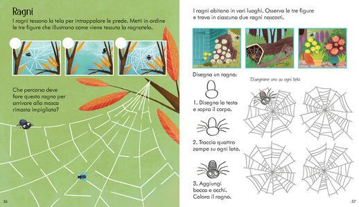 La natura. Il libro dei giochi. Con adesivi. Ediz. a colori - Rebecca Gilpin - 4