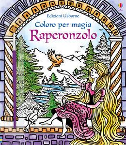Raperonzolo. Coloro per magia. Ediz. illustrata. Con gadget - Susanna Davidson - copertina