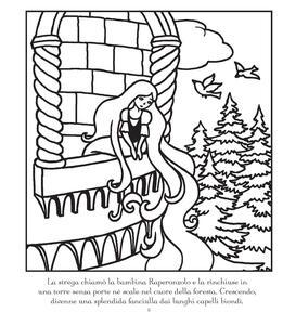 Raperonzolo. Coloro per magia. Ediz. illustrata. Con gadget - Susanna Davidson - 3