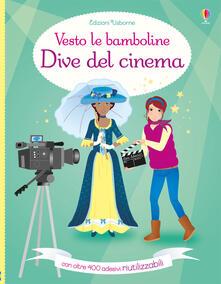 Atomicabionda-ilfilm.it Dive del cinema. Vesto le bamboline. Con adesivi. Ediz. a colori Image