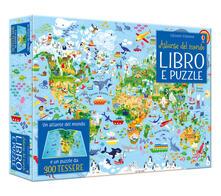Atlante del mondo. Libro e puzzle. Ediz. a colori. Con puzzle.pdf