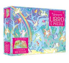 Radiosenisenews.it Unicorni. Libro e puzzle. Con adesivi. Ediz. a colori. Con puzzle Image