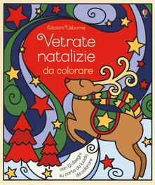 Vetrate natalizie da colorare. Ediz. a colori.pdf