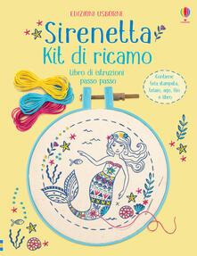 Cefalufilmfestival.it Sirenetta. Kit di ricamo. Con gadget Image