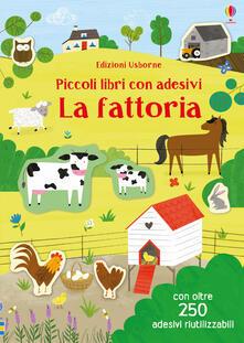Daddyswing.es La fattoria. Piccoli libri con adesivi. Ediz. a colori Image