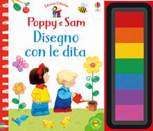 Winniearcher.com Disegno con le dita. Poppy e Sam. Ediz. a colori. Ediz. a spirale Image