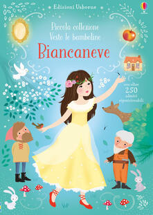 Nicocaradonna.it Biancaneve. Piccola collezione. Vesto le bamboline. Con adesivi Image