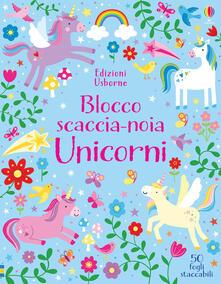 Unicorni. Blocco scaccia-noia. Ediz. a colori.pdf