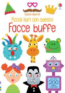 Ristorantezintonio.it Facce buffe. Piccoli libri con adesivi. Ediz. a colori Image