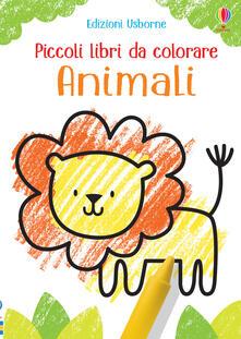 Capturtokyoedition.it Animali. Piccoli libri da colorare. Ediz. a colori Image