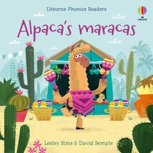 Alpaca's maracas - Lesley Sims,Lesley Sims - cover
