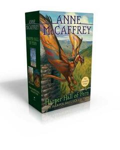 The Harper Hall Collection: Dragonsong; Dragonsinger; Dragondrums - Anne McCaffrey - cover