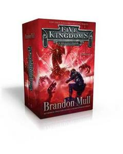 Five Kingdoms Collection Books 1-3: Sky Raiders; Rogue Knight; Crystal Keepers - Brandon Mull - cover